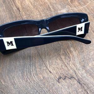 Vintage Missoni Sunglasses retro rectangle black
